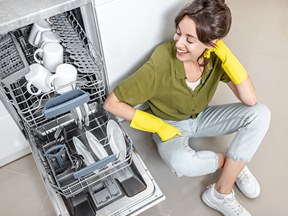 How to use the dishwasher economically?