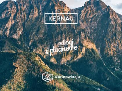 Marka Kernau partnerem strategicznym kampanii Urlop w kraju