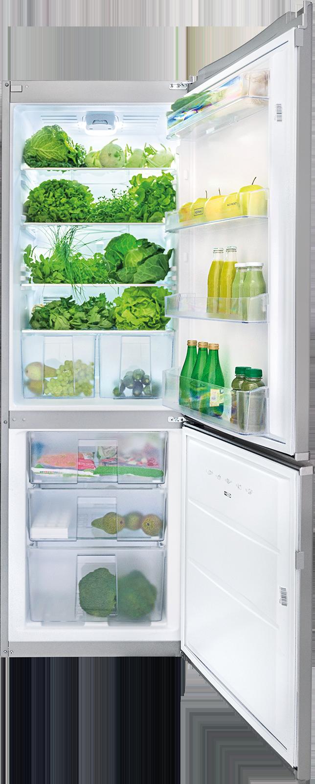 Freistehender Kühlschrank mit Gefrierfach KFRC 18161 NF X