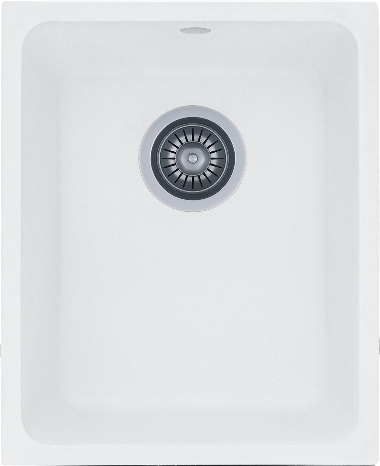 Granite Kitchen Sink Kernau Kgs U 45 1b Pure White