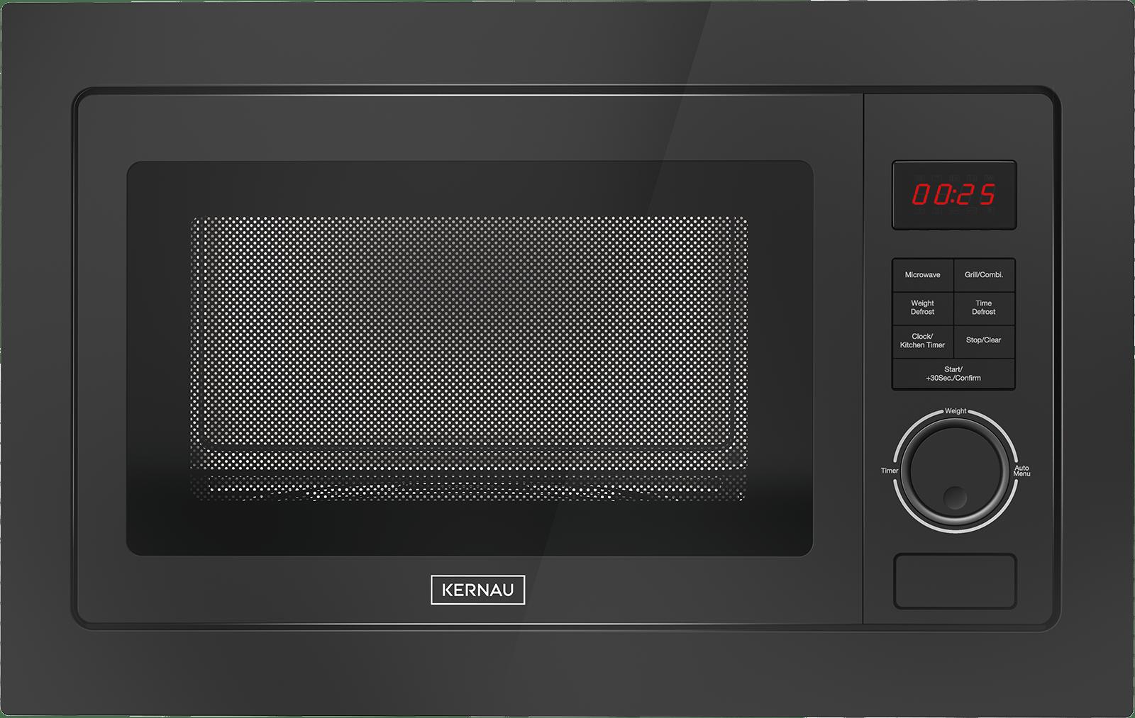 Kuchenka Mikrofalowa Kernau Kmo 251 G B Czarna