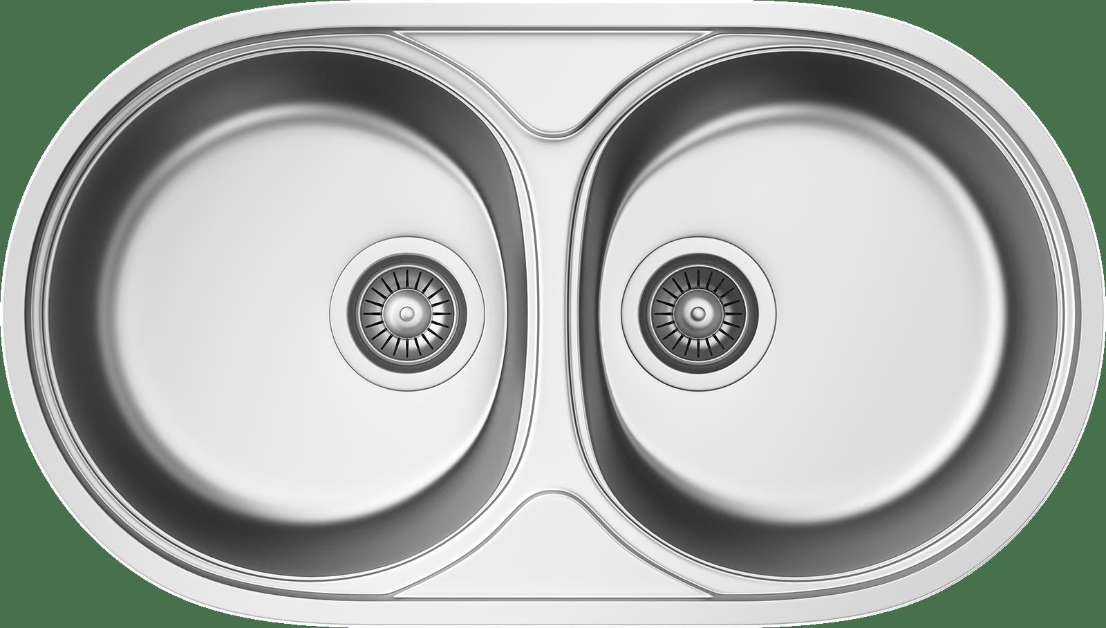 Hervorragend Küchenspüle KSS B 801 2B MICROLINEN