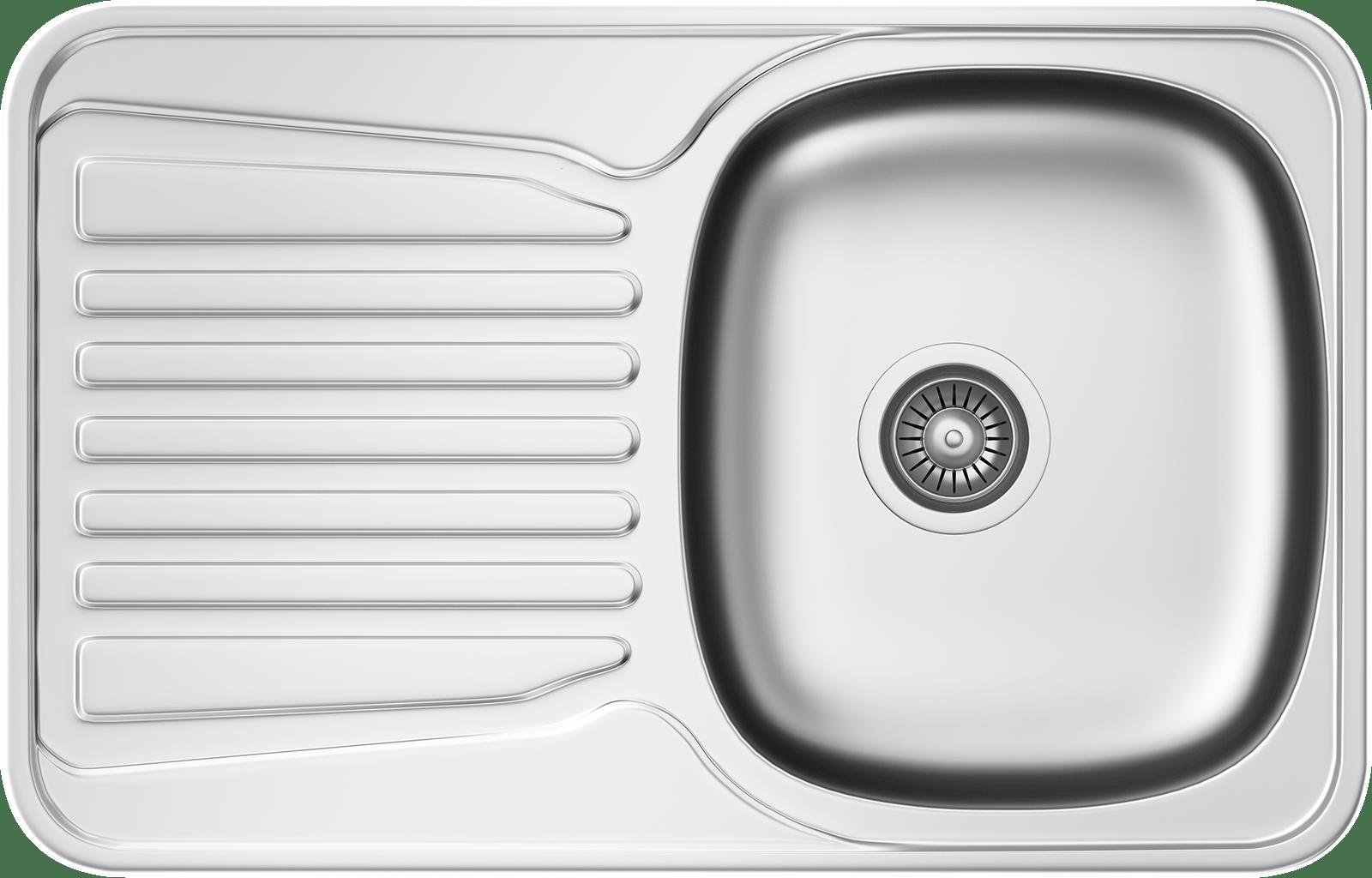 Küchenspüle KSS G 452 1B1D MICROLINEN