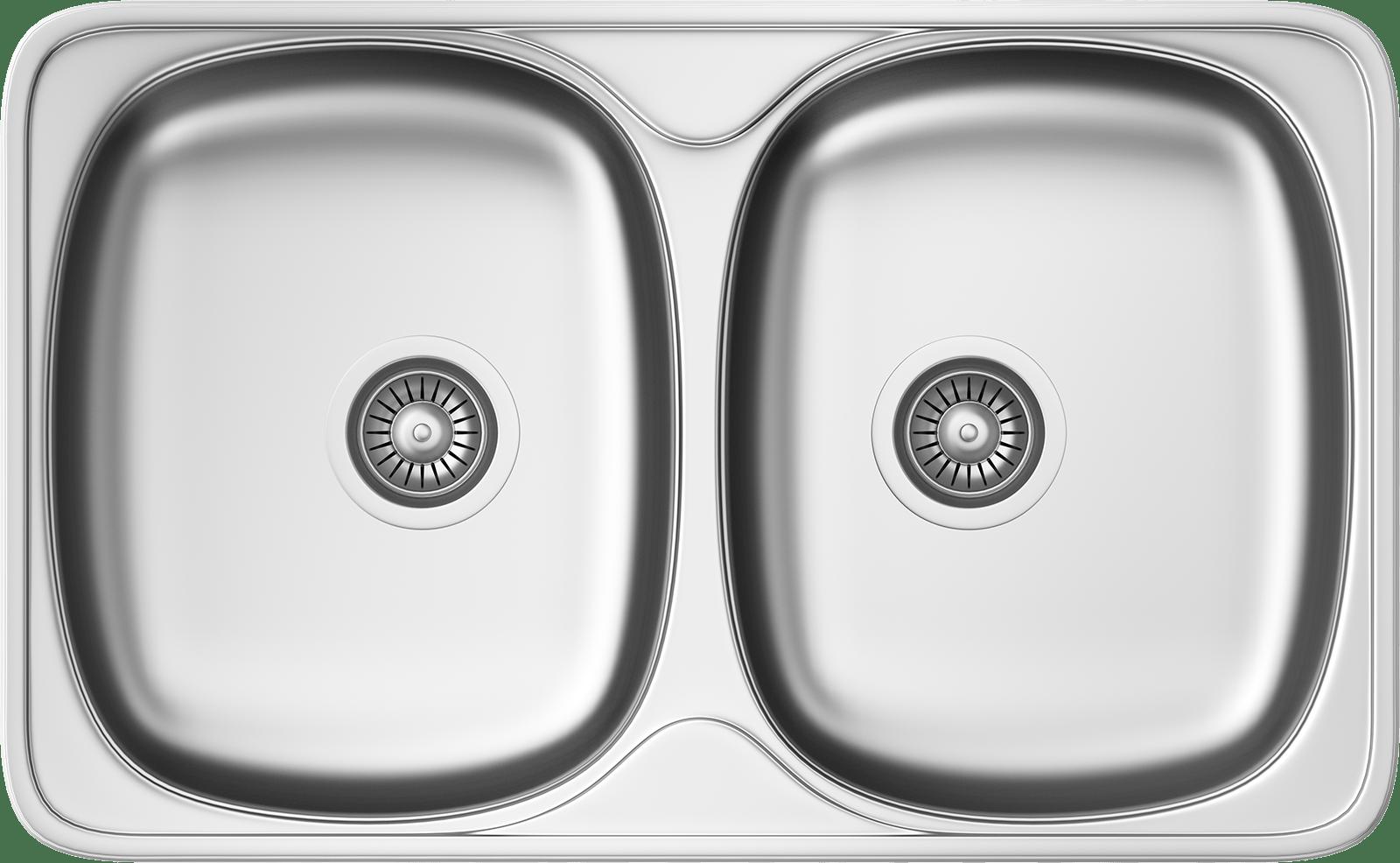 Küchenspüle KSS G 802 2B MICROLINEN