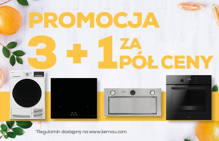 Promocja 3+1 - Max Kuchnie