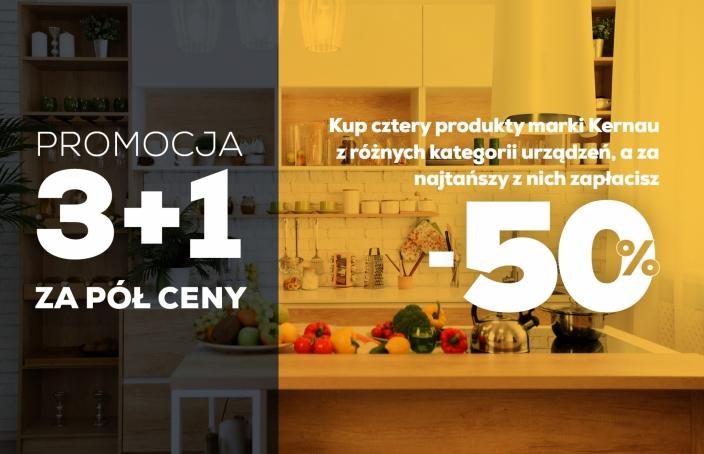 Promocja 3 + 1 - Max Kuchnie jesień-zima 2020/21
