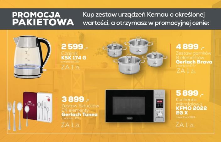 Promocja Pakietowa - Max Kuchnie jesień-zima 2020/12